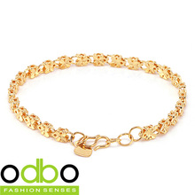 Buy products more than$10(mix product),free shipping, fashion jewelry 18K gold-plated series Butterfly-shaped  bracelet TY-KS136