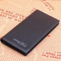 Fashion Fuerdanni genuine leather wallet 2013 mens wallet uncovered cowhide Long design 3702-3 black 09 purse