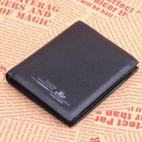 Fashion Fuerdanni genuine leather wallet 2013 mens wallet uncovered cowhide short design 3702-2 black 08 purse