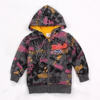 FREESHIPPING A3413# 5 pieces/lot 2013 new fashion hot selling NOVA kids sportwear autumn-winter baby boys hoodies with hood