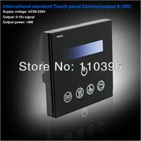 input AC 85-265v touch panel dimmer,output dc 0-10v led dimmer signal,voltage range 0-10v dimming,output current<15MA