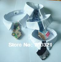 Wholesale - New Arrival Polyester Silk Pet Dog Necktie Adjustable Handsome Bow Tie Necktie Grooming Supplies