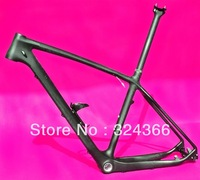 "FR-503 Full carbon UD Matt Matte MTB 650B 27.5ER mountain bike 27.5"" Wheel frame (BB30)  + Seatpost + Clamp + Cage"