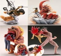 Anime Attack on Titan 4pcs/set mini Figure