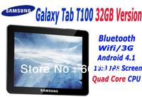 "Samsung Galaxy Tab T100 Quad Core 32GB Tablet 10.1"" IPS 4 Core 1.2GHz  RAM2GB HDD 32GB Bluetooth Wifi HDMI Dual Carema"