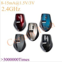 2013 Brand New 2.4GHz Rapoo 3200 Ergonomic USB Wireless Laser PC Mouse Optical Mini Adapter 10M Distance Allowed