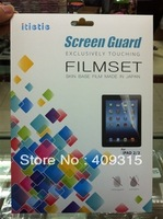 Matte Protective Film for New iPad 2 3 4 Anti-Glare Matte Screen Protector Guard With retail package Free Shipping