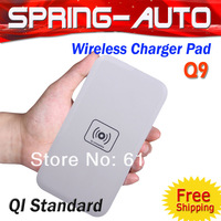 FreeShipping Qi Standard Wireless mobile phone Charger charger Pad Q9  for Samsung Galaxy s4 s3 note2 LG Nexus 4 2G Nokia lumia