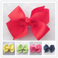 20pcs/lot 3.15 inch Girls' hair accessories hair bow without clips Freeshipping BOW07