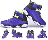 Free shipping ! 2013 new JD 6 Rings men Basketball Shoes high quality JD athletic shoes Brand sports shoes, size:41-47