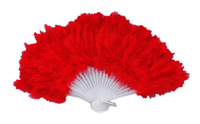 Free shipping 100pcs/lot assorted colors feather fan,party feather fan wedding gift favor