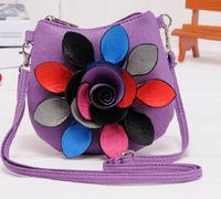 New Arrivals! 2013 new Korean fashion flower shoulder bag, messenger bag, handbag B112