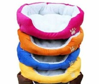 2012 HOT ! Colorful Pet Cat and Dog bed & Pink,Orange,Blue,Yellow,Brown,Gray,Green SIZE M,L