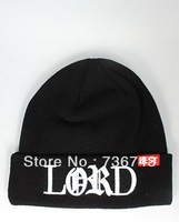 1 pc/lot Free Shipping Unisex Lord Beanie hiphop  Skateboard Knitted Beanie Winter Wool Hat