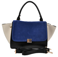 desigual Uniquely two shaped patchwork two color women messenger bag zipper & hasp handbag totes items ss0073
