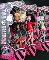 EMS or DHL free shipping Christmas gift, the 2013the monster high dolls, 3 PCS / 3 style perfect quality and packaging