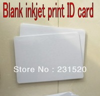690pcs/lot Dual Side Direct Inkjet Print Blank White ID PVC cards 0.76mm Thick used in Home Epson Inkjet Printer