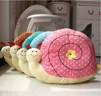 Lovers fashion multi-colored cushion pillow snail plush toy nap pillow  cloth dolls