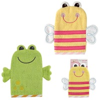 free  shipping  Luvable Friends 100% Cotton Baby lovely  Wash Mitt