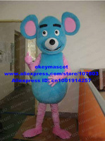 Lovely Mouse Mascot Costume Mice Rat Fancy Dress Cartoon Character Mascotte No.3700 Free Shipping