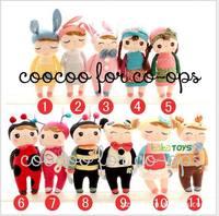 Hot Sell Metoo Cute Angela Dolls Plush Bunny Toys Girls Birthday Present  Rabbit Toy Kids Christmas Gift