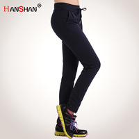 Women's sports pants plus size trousers loose health pants female casual sports pants harem pants fashion pants