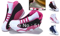 Free shipping wholesale 2013 new AIR retro jd 13 women shoes j13 Fashion sport shoes-in cheap Basketball Shoes,Size:36-40