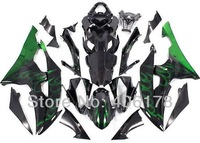 Free shipping,Hot sale Yzf-600-R6 08 09 10 11 12 13 fairing for Yamaha Yzf R6 2008-2013 Flame Body Fairings (Injection molding)