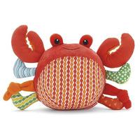 baby plush toy SKP Ocean Pals Chime Ball- Crab