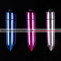 Wholesale 20Pcs/Lot Big Plating Bullets One-Speed Vibe Sex Vibrator Adult Toys Sex Products XQ-604