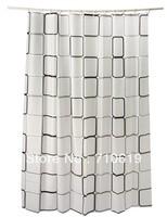 FEDEX Free Shipping 500pcs/lot 2013 new,bathroom shower curtain,cortinas water proof shower curtain sets 180cmx200cm,Lattice 220