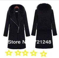 Free Shipping when you wear on it THE Right Real Rex Rabbit Hair Fur ,left The fox fur Collar Women's parka  Down Jacket Clothes