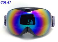 2014 new top quality Snowboard Ski Goggles UV Double Lens UV-Protection Anti-Fog Skiing Glasses Winter eyewear Christmas Gift 17