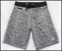 Free Shipping Trend Fashion Grey Color QuickBang New Spandex Man Boardshort With Size 30 -32-34-36-38