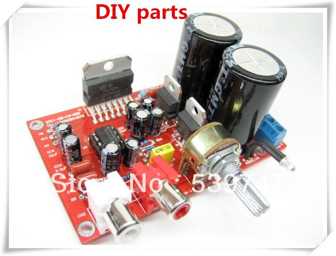 Tda7294 subwoofer Amplifier kit com acesso fixo à pilares 100W * 1 Mono Audio Power Amplifier Board grátis frete(China (Mainland))