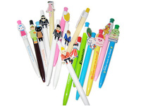 Cartoon advertisement pen customized ball-point pens wholesale customized LOGO printing