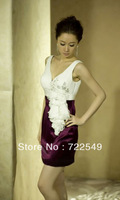 slim Customized Part  Short Evening Dress