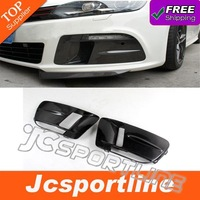 10-13 OSIR Style MK6 R20 Carbon fiber Car foglamp mask,front bumper foglamp cover for VW Golf6 (Fits 10-13 MK6 R20)