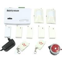 D19+Wireless Home Security System Kit GSM Alarm Remote Control Sensors Detectors