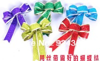 free shipping sparkle ribbon  package cord gift  decoration quality christmas supplies tree decoration ornament  bow material