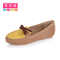 Free Shopping Gommini loafers female genuine leather scrub single shoes female shoes flat heel flat shoes