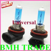 Crazy Item&Universal H11 12V 55W New Super White Light Bulbs 6000K 2 Pcs Halogen Xenon Low Beam,Wholesale Fast Freeshipping