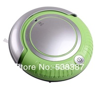 Mini Robot Vacuum Cleaner K6L, Removable 2 Side-brushes, Adjustable Anti-cliff Sensors,Mopping,LED Lights,3 Working Modes