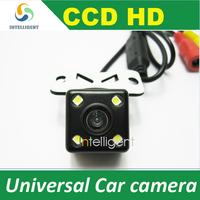 Free shipping HD CCD Car rear view camera color night vision universal car camera for all car such solaris corolla BMW E36 mazda