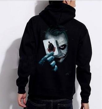 Batman acket Hoodie Sweatshirt Joker Tuxedo Costume coat