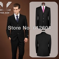 Designer men suits brand 2013 two-pieces blazer and pant wedding tuxedos formal 3 button suits business cothes plus size 4XL