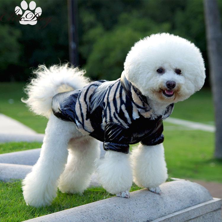 Jaqueta de algodão acolchoado Pet estilo britânico roupa do cão outono e inverno inverno vip pelúcia encapuzados casaco amassado super-quente(China (Mainland))