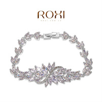 ROXI brands luxury bracelets,clear zirconia bracelets,fashion OL jewelry,Christmas/Weddings gifts,wolesale,Nickeless jewelry
