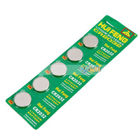 5ps CR2032 3V Cell Button Lithium Battery batteries Free Shipping