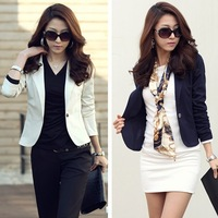 2014 Unique design new hot plus size stylish and comfortable Wild lace chiffon jacket coat Slim small suit jacket #1905